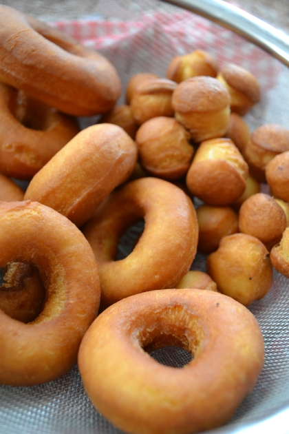 donuts made with sourdough starter
