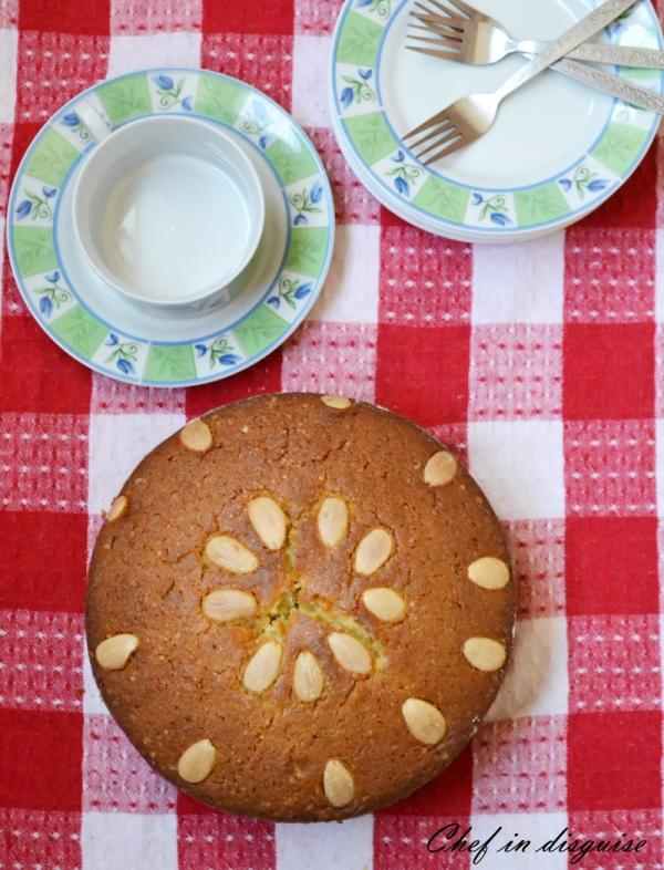 Mawa cake with cardamom