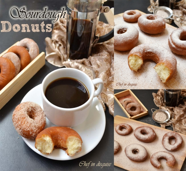Sourdough donuts: Chef in disguise