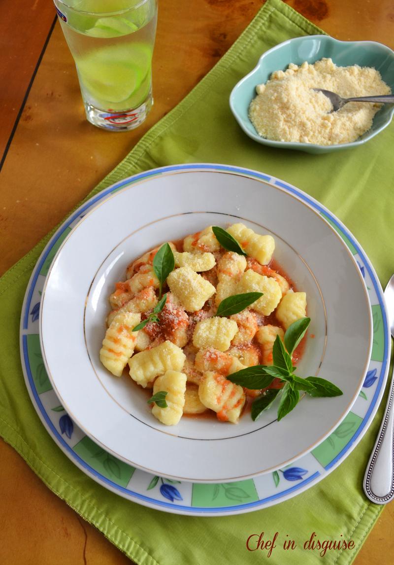 Nancy Silverton's Gnocchi With Basic Tomato Sauce Recipe — Dishmaps