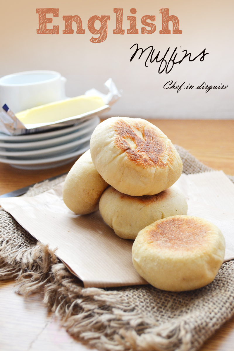 English muffins step by step