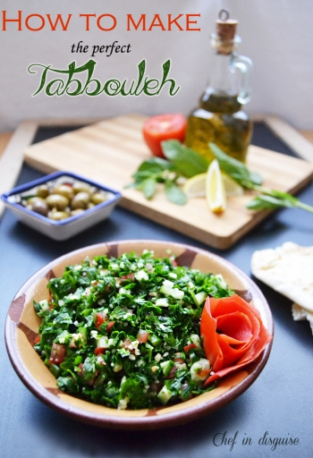 How to make the perfect tabbouleh by Chef in disguise