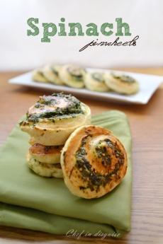 Spinach feta pinwheel