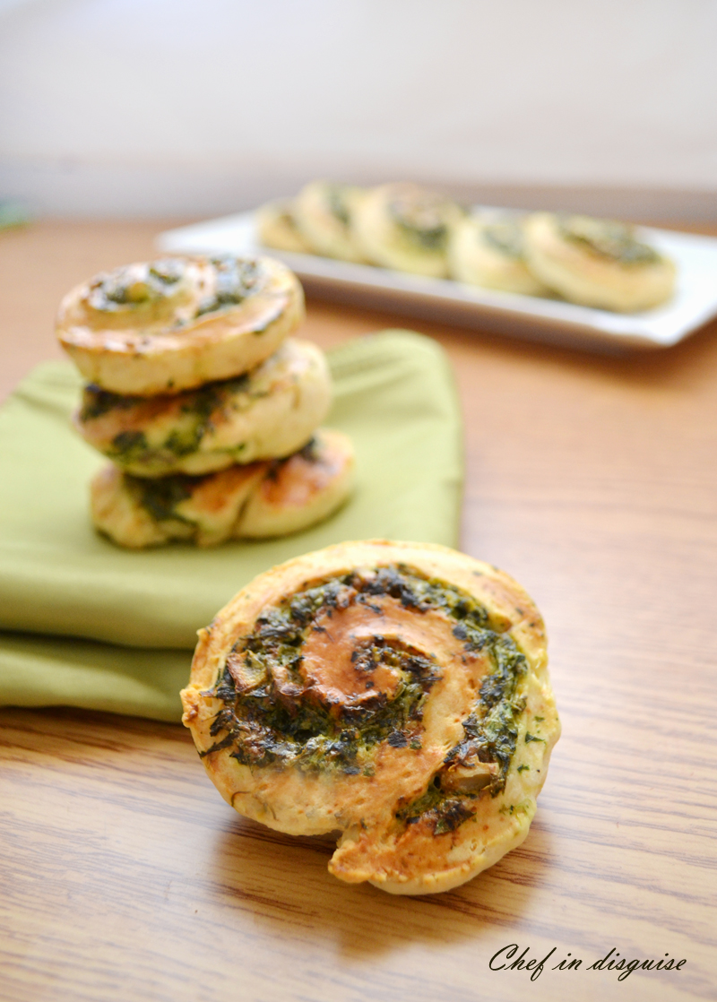 spinach wheels