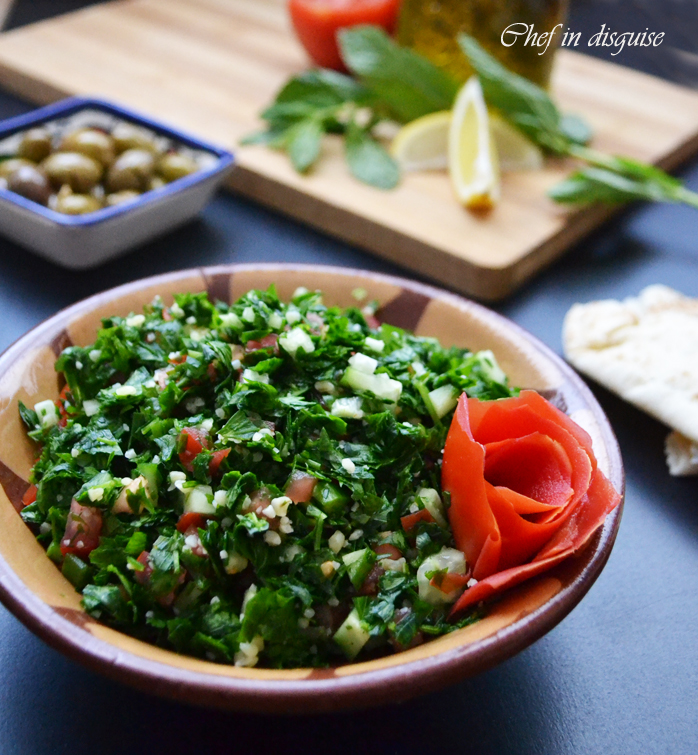 Tabbouleh a beautiful salad lost in the translation chef in disguise tabbouleh forumfinder Choice Image