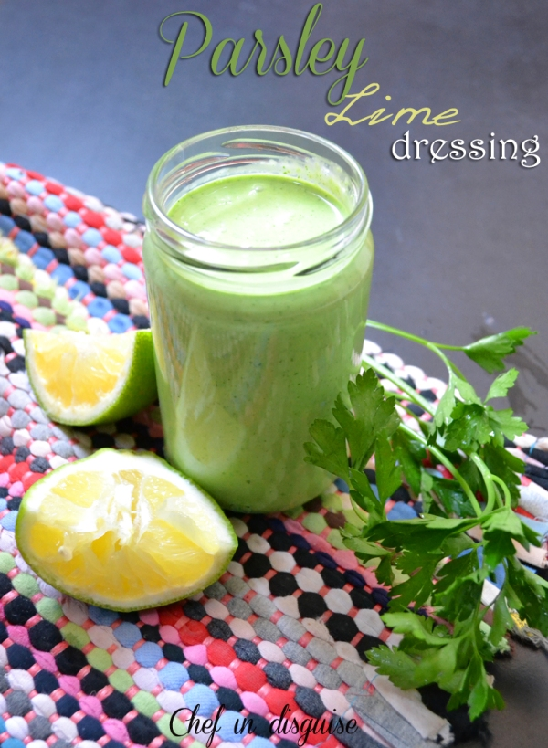 parsley lime dressing
