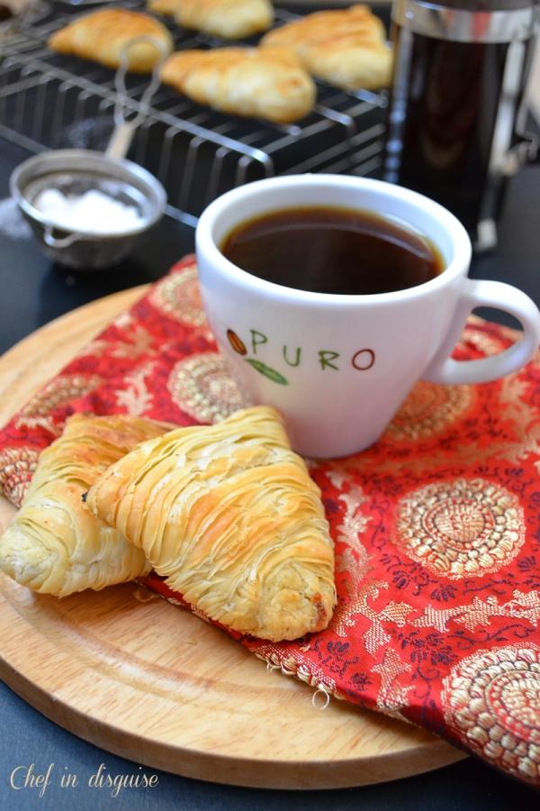 Sfogliatelle Ricci italian pastry