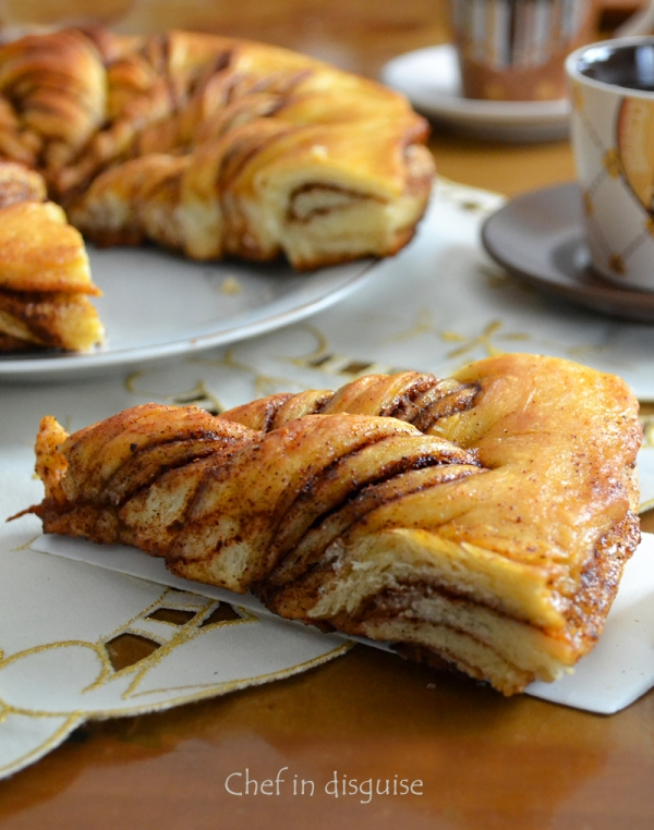 Nutella twists by chef in disguise