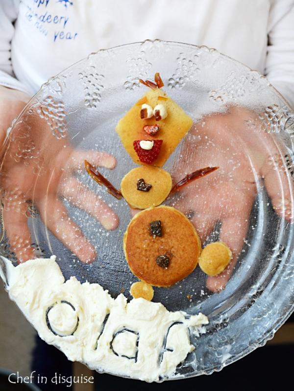 Olaf pancake breakfast