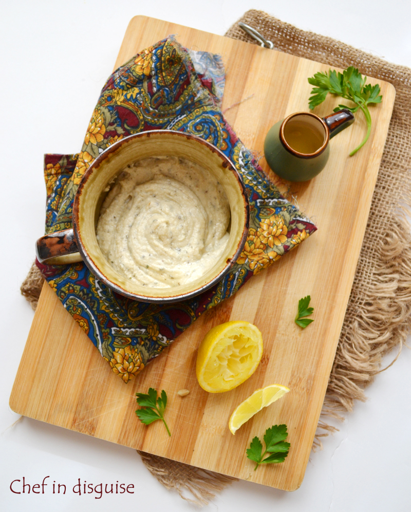 Tahini salad dressing: Chef in Disguise