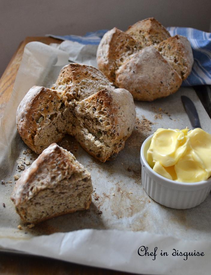 5 seeds soda bread
