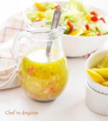 Italian salad dressing: Chef in disguise.