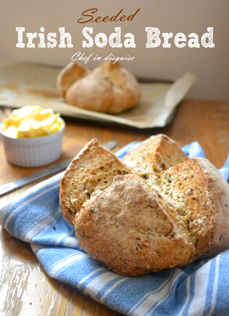 seeded soda bread
