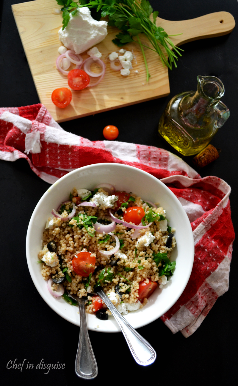 couscous salad chef in disguise