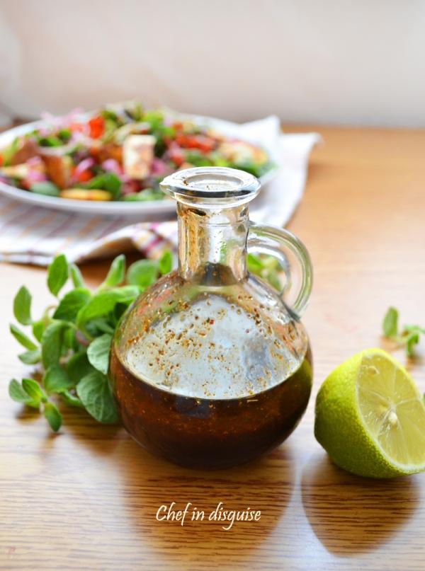 Pomegranate molasses salad dressing