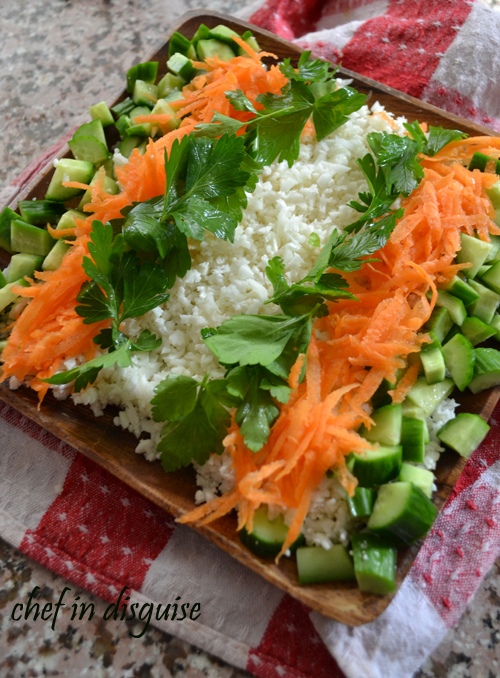 sushi salad chef in disguise