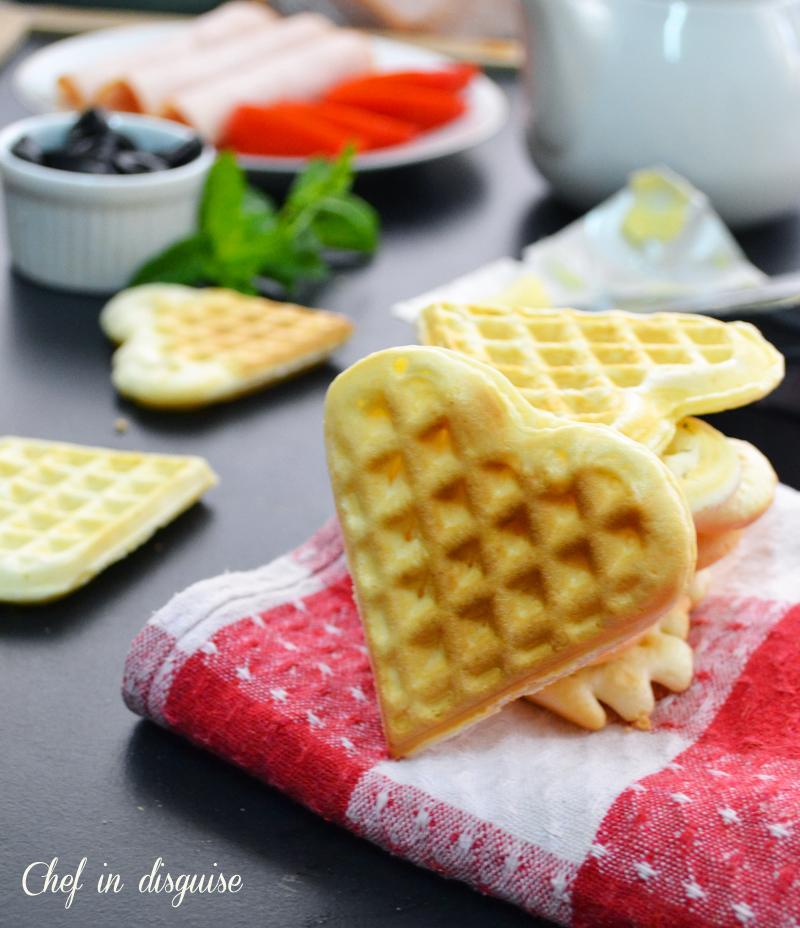 pao de quijo waffles