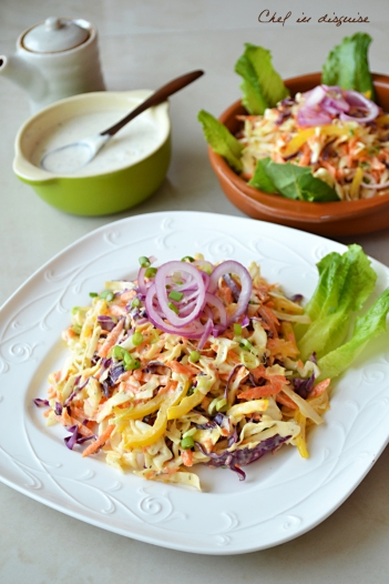 ranch flavored Coleslaw