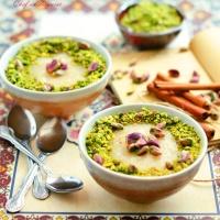 Mamonia (Syrian semolina pudding)