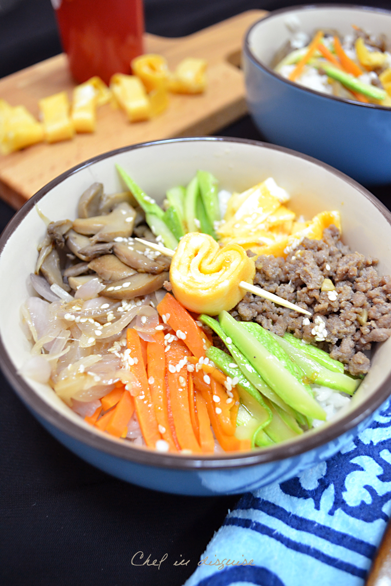 bibimbap chef in disguise