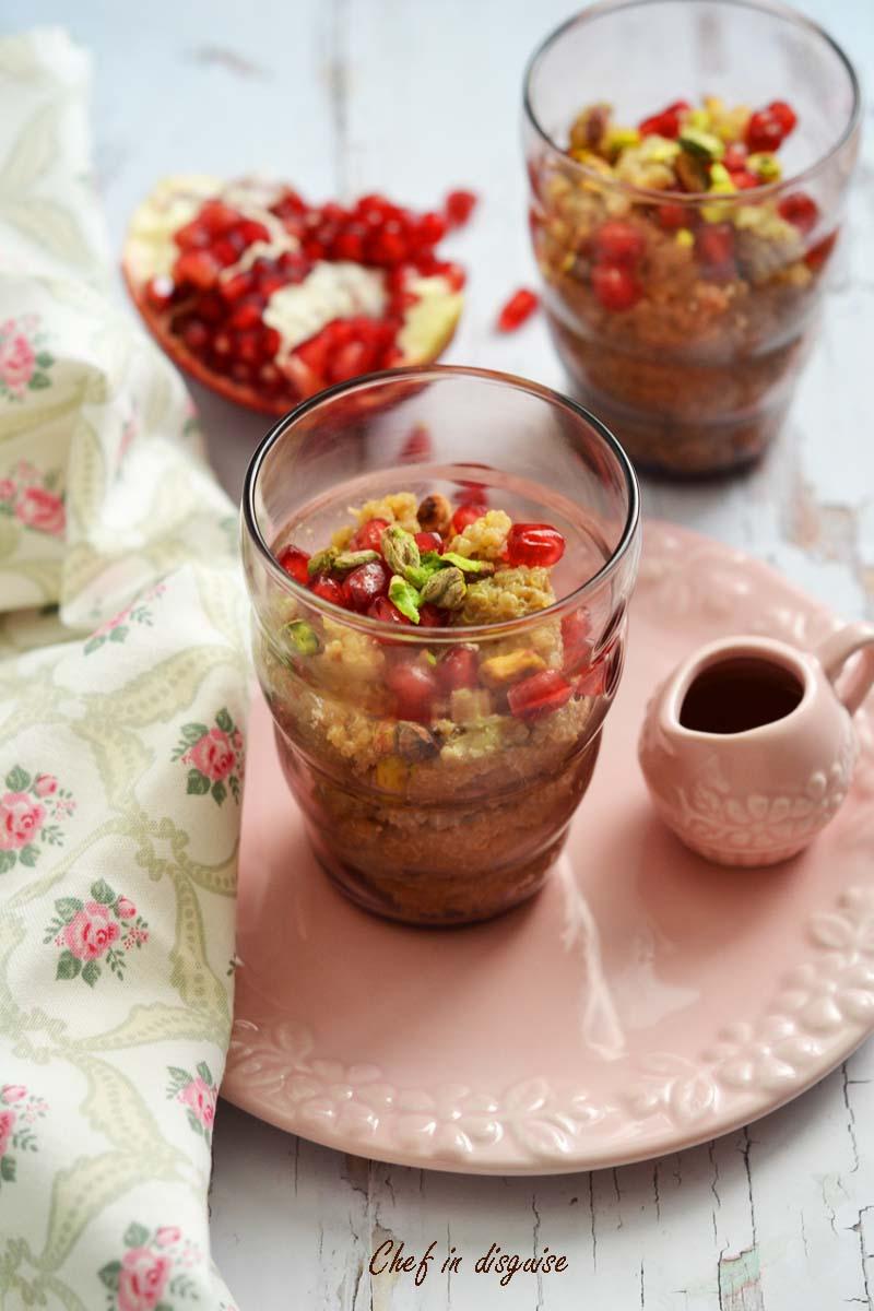 Quinoa coconut pudding
