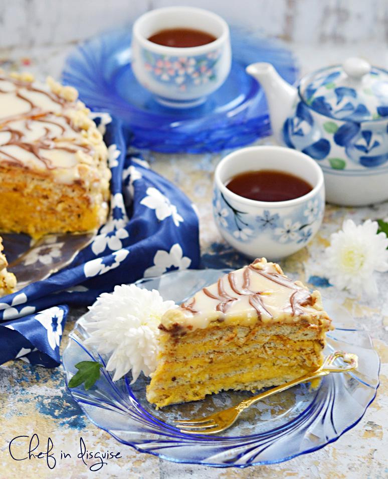 Esterhazy cake daring bakers2