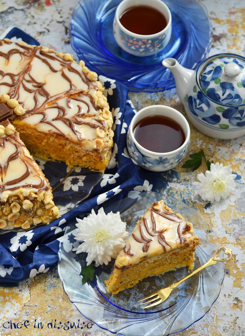 Esterhazy hazelnut cake