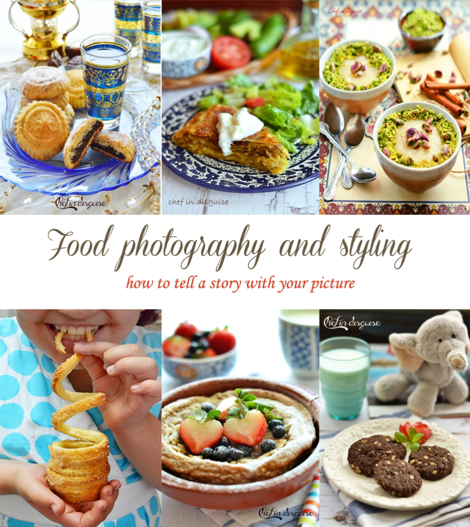Food photography tutorial