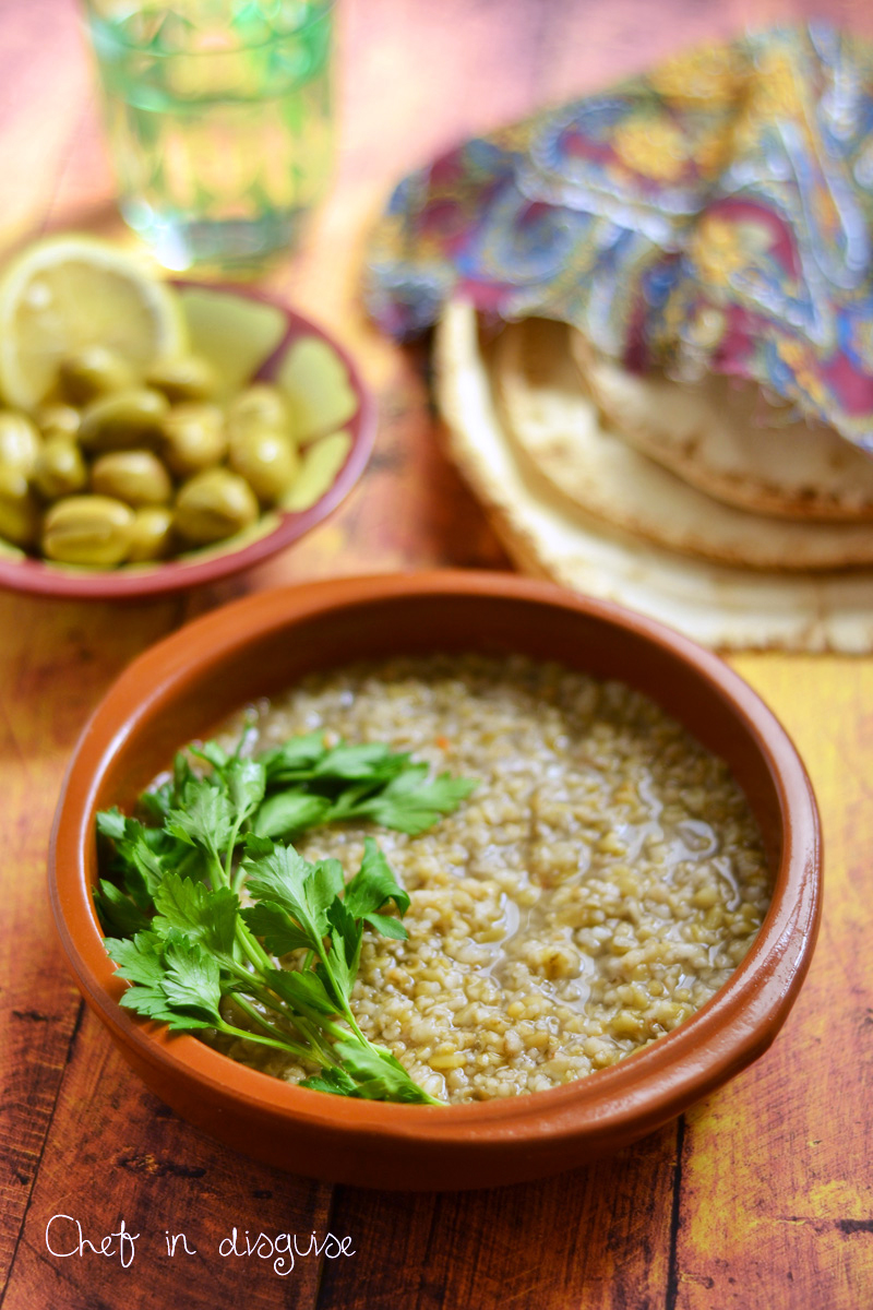 Freekeh soup chef in disguise