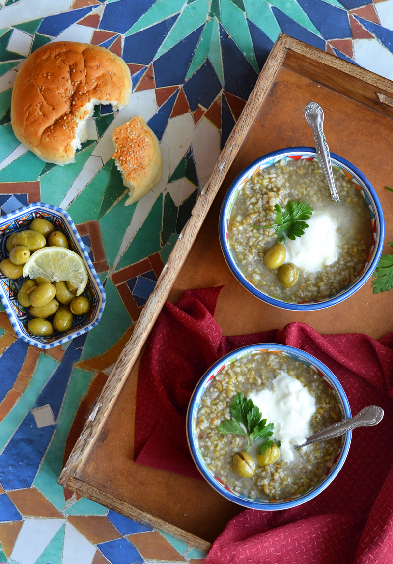 Freekeh soup