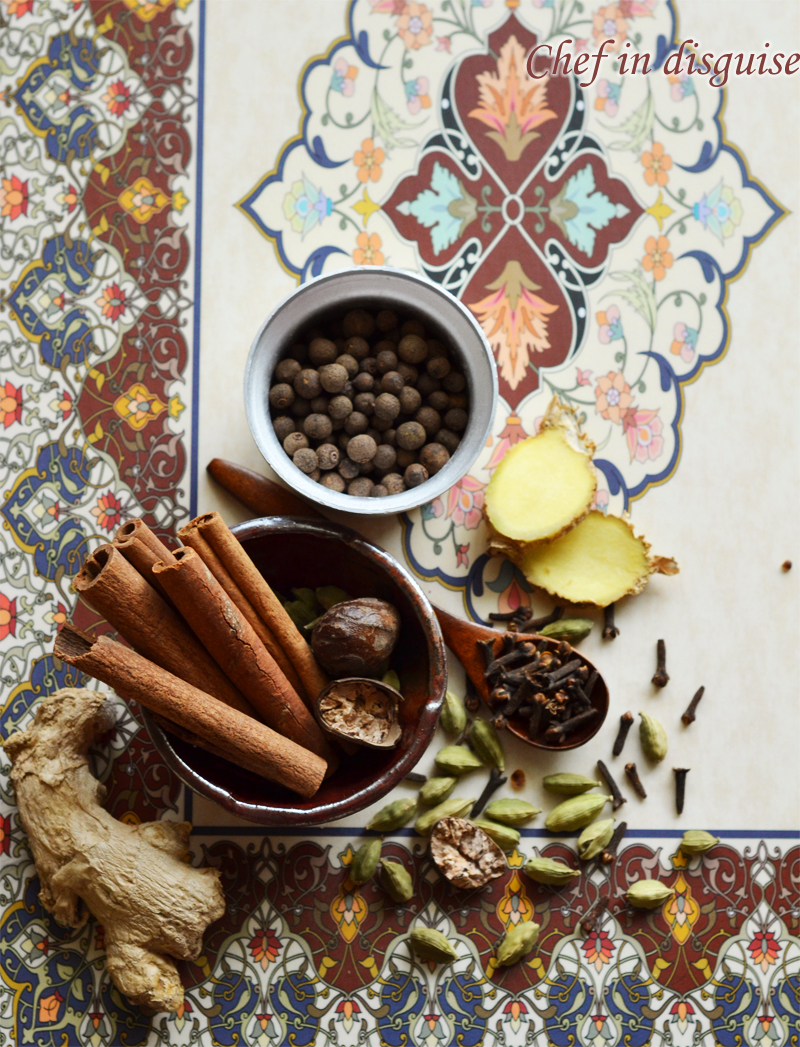 Arabic seven spice blend