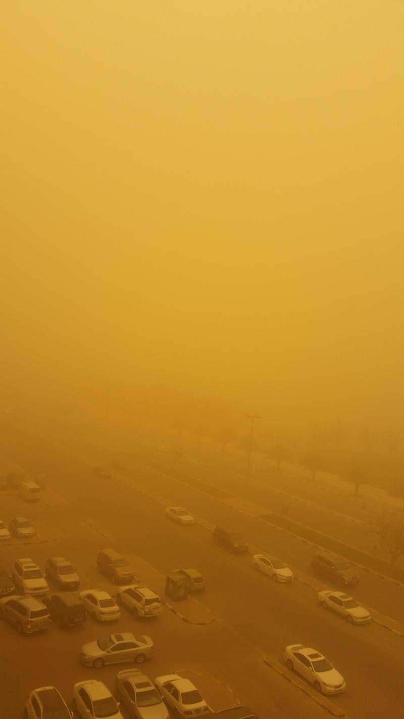 UAE sandstorm