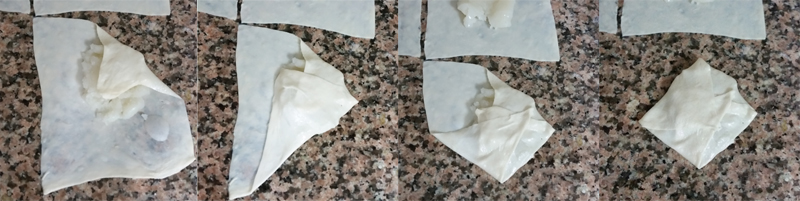Tamryieh folding steps