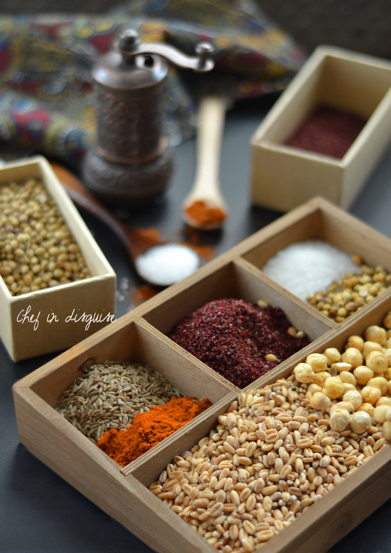 Dukkah spices chef in disguise