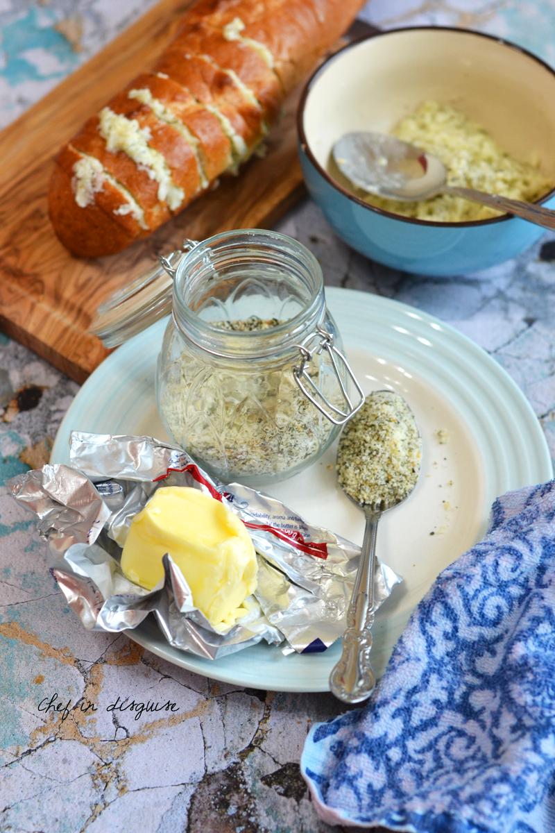 Galic bread seasoning mix