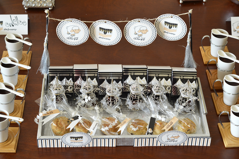Eid giveaway tray