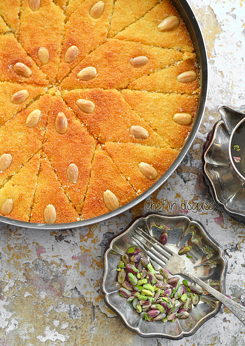Harissa recipe chef in disguise arabic semolina cakeg forumfinder Image collections