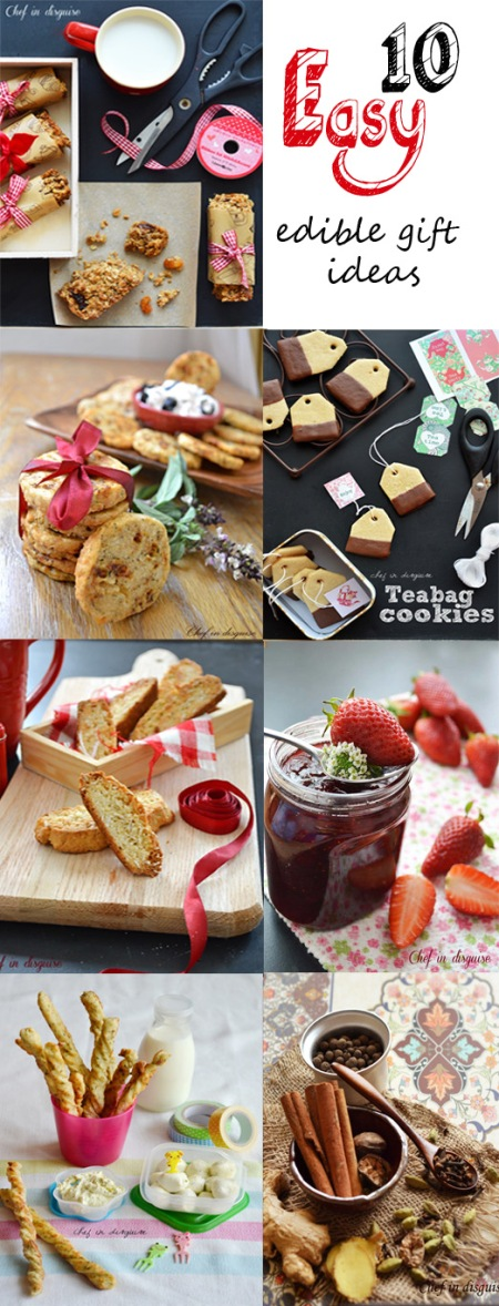10 easy edible gift ideas