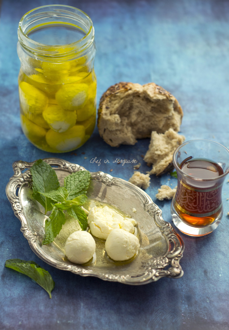 labneh balls chef in disguise