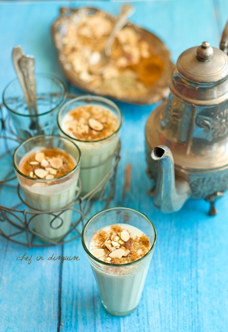 Almond coffee chef in disguise