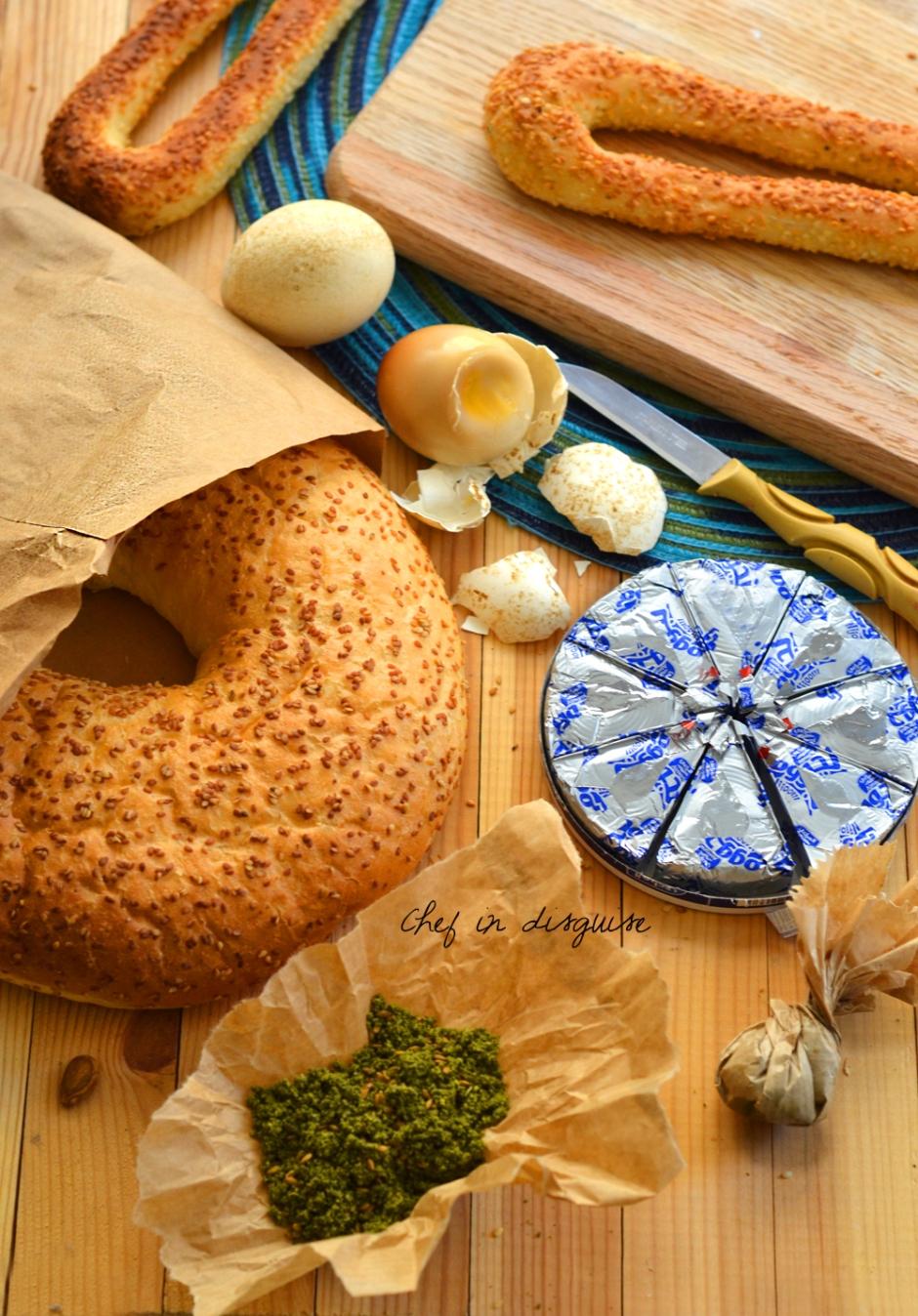 Jerusalem kaek sesame bread