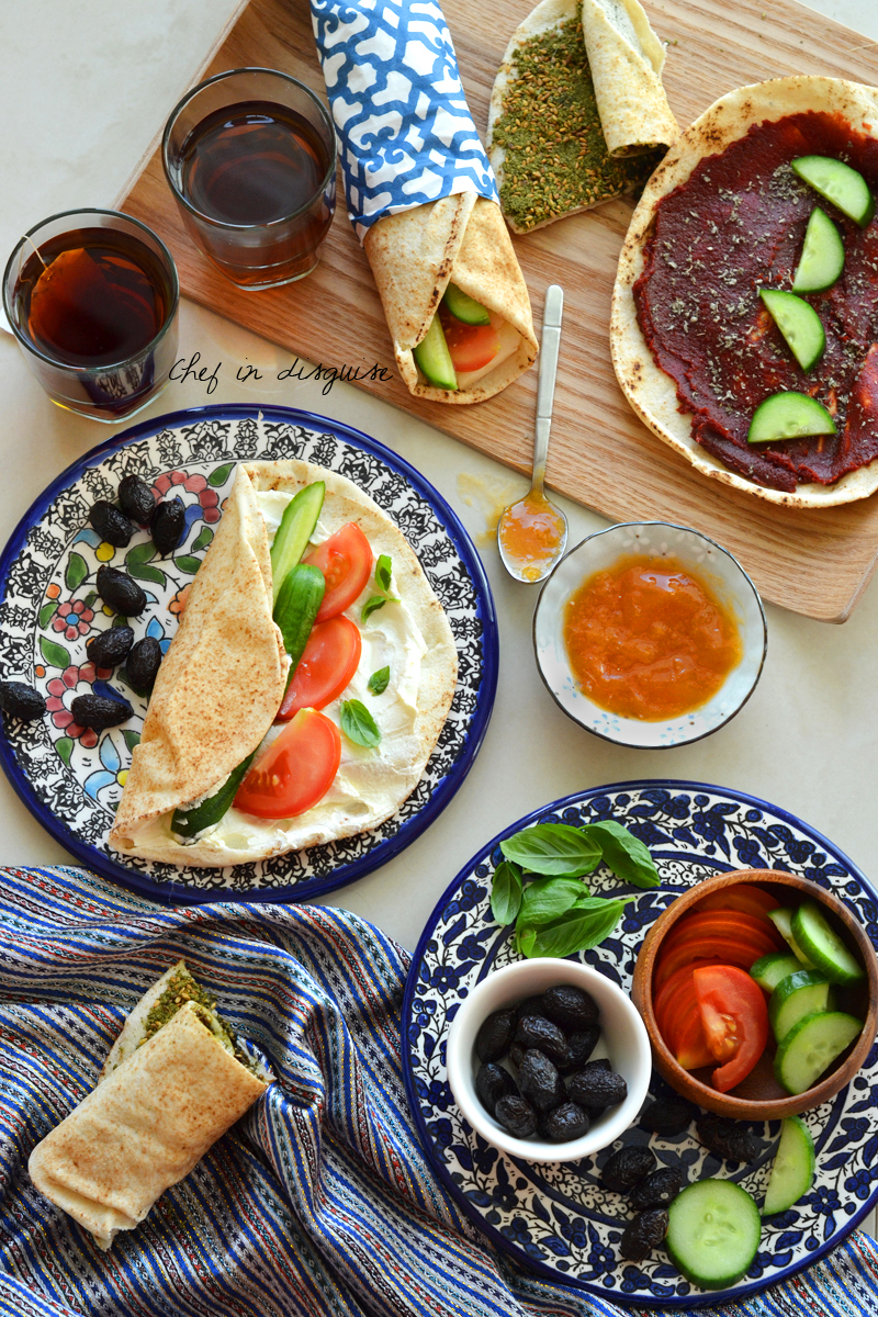 Middle Eastern Breakfast Take 3 Wraps Chef In Disguise