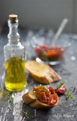 Tomato mint italian bruschetta thumbnail