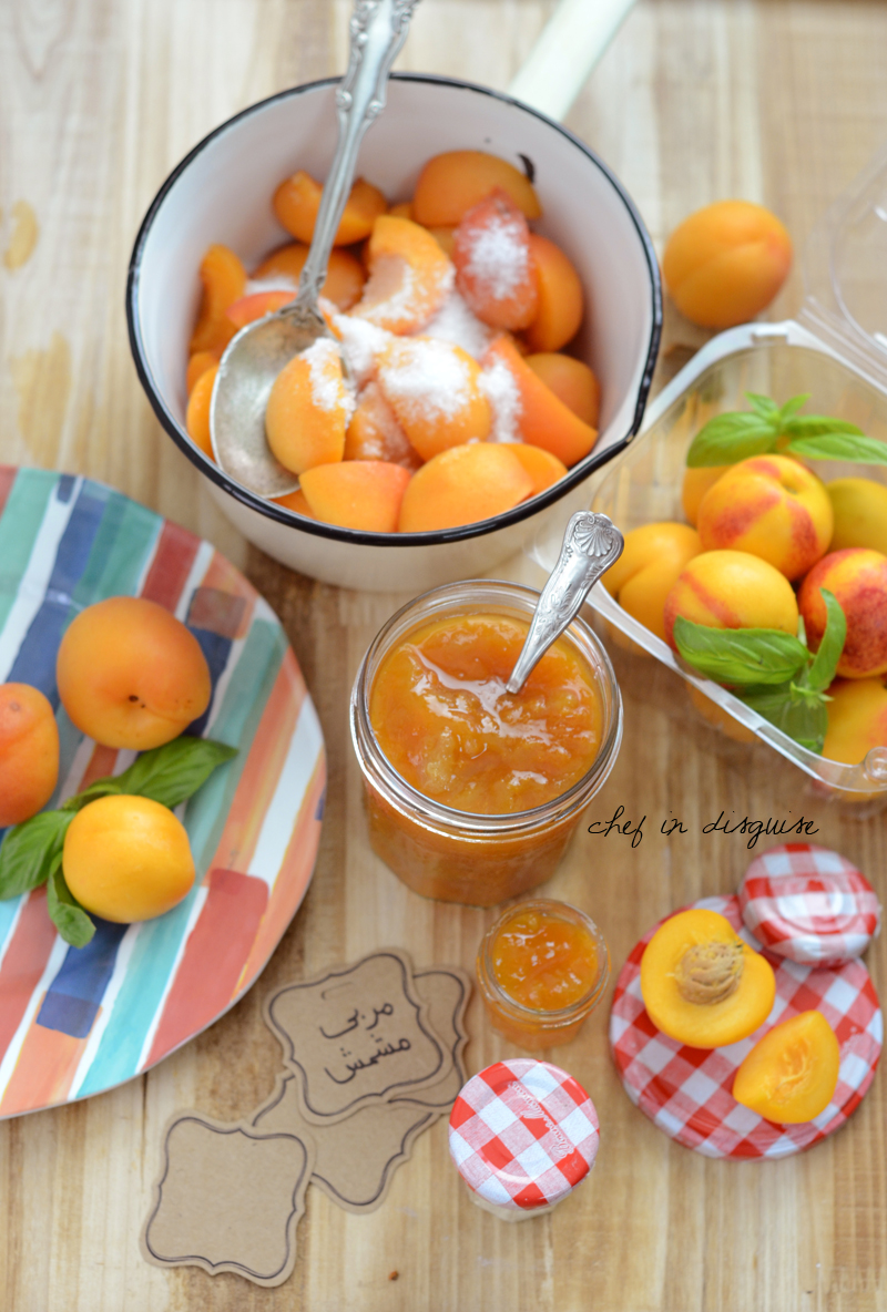 Apricot jam chef in disguise