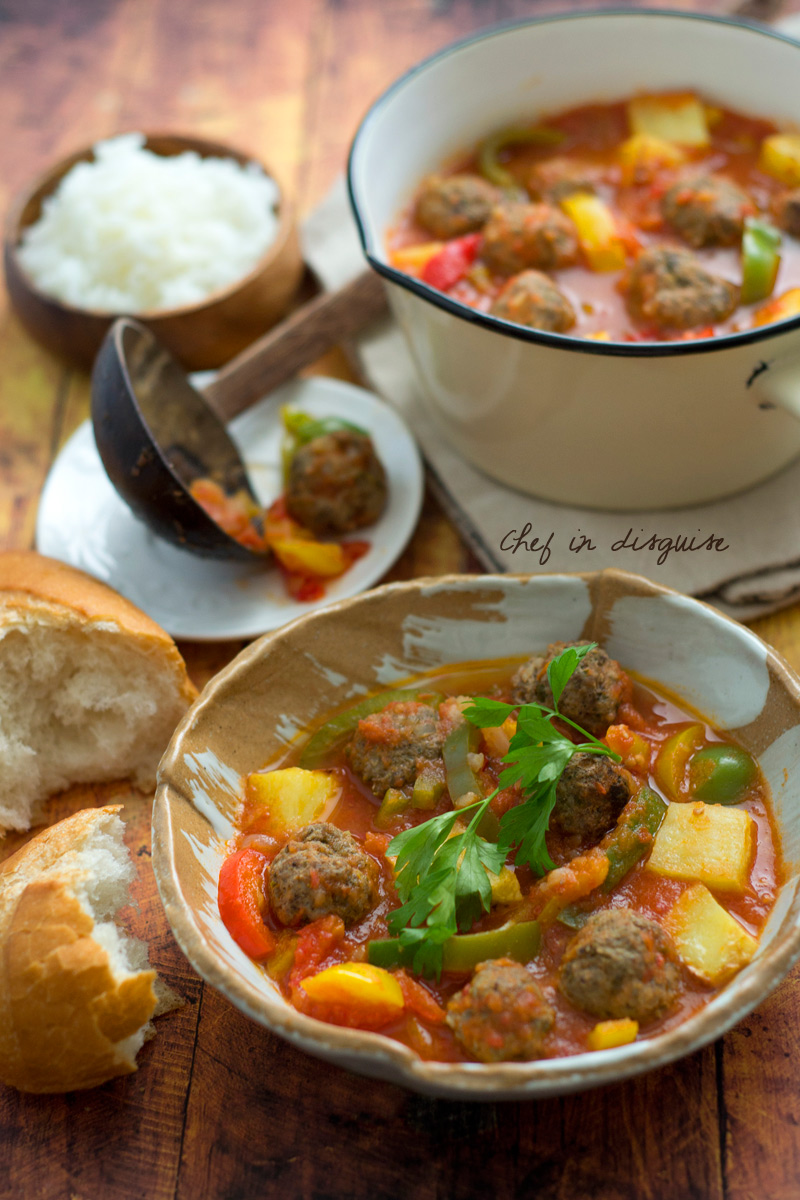 Dawood basha arabic meatballs recipe chef in disguise this dawood basha recipe was actually one of the earliest recipes i have shared on this blog it is one of my kids all time favorites but at the time forumfinder