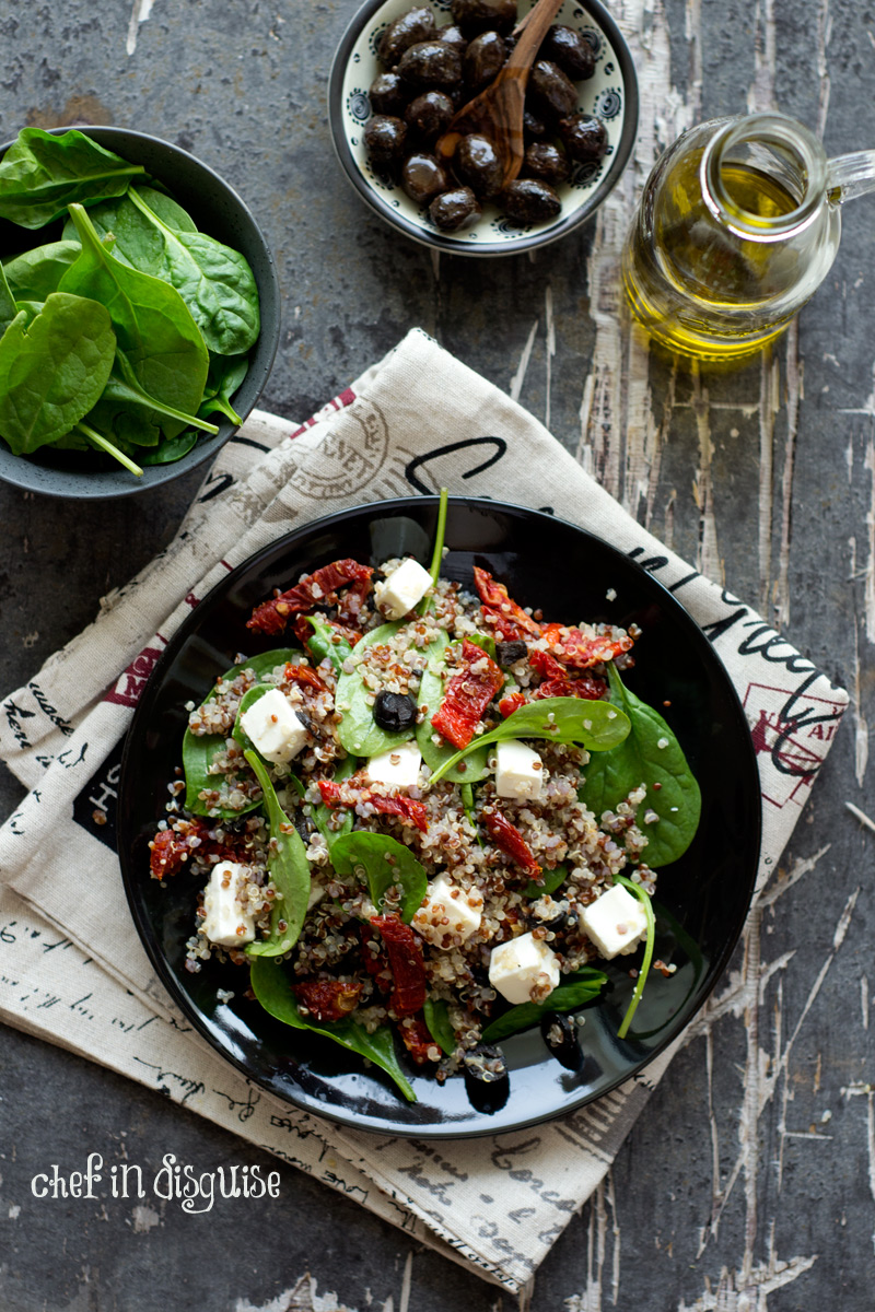 Spinach-and-feta-quinoa-salad
