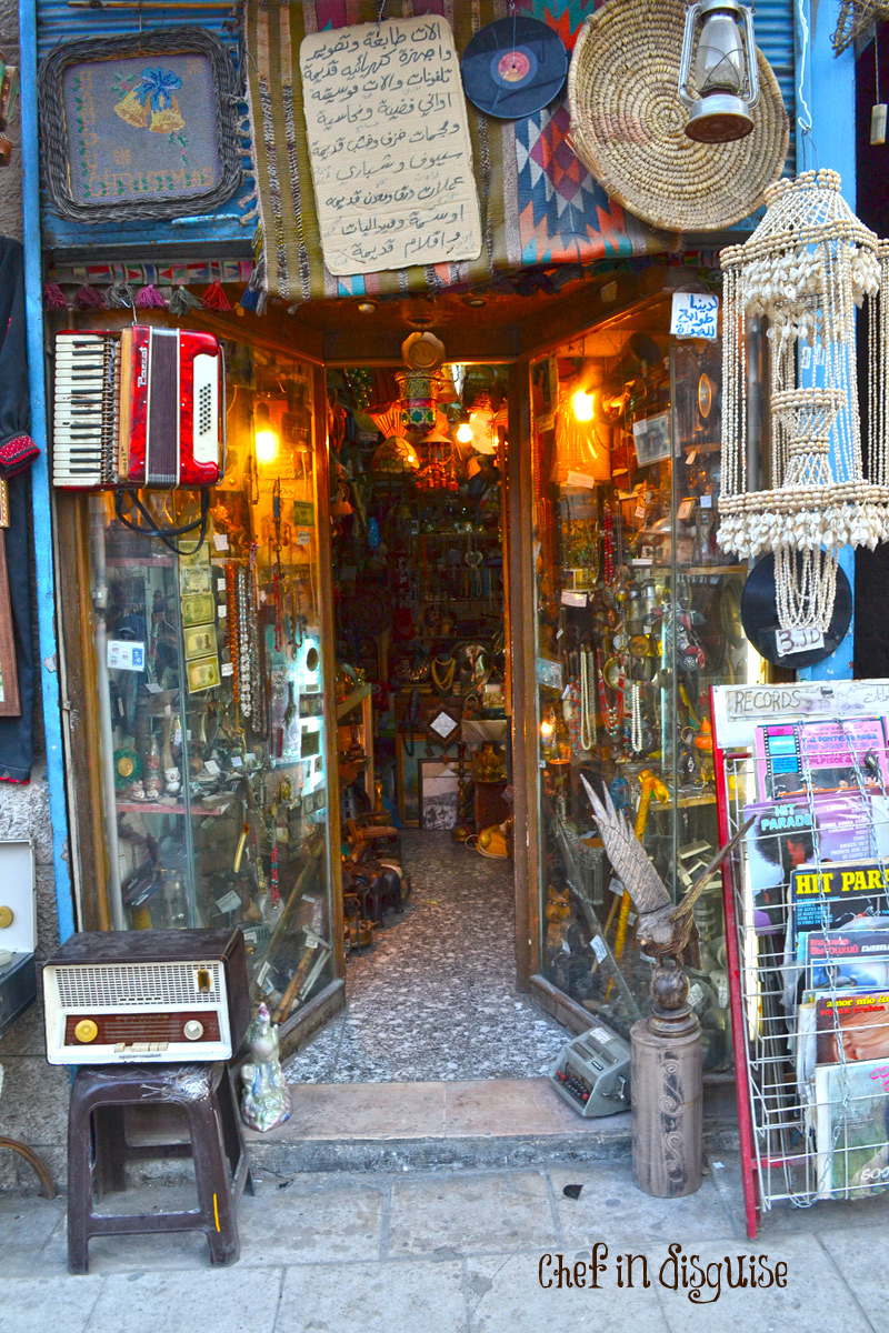 Antique-shops