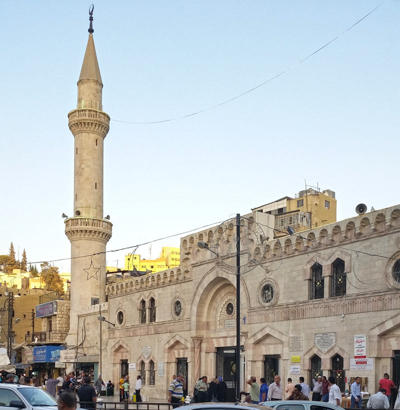 Husseini-mosque-Amman