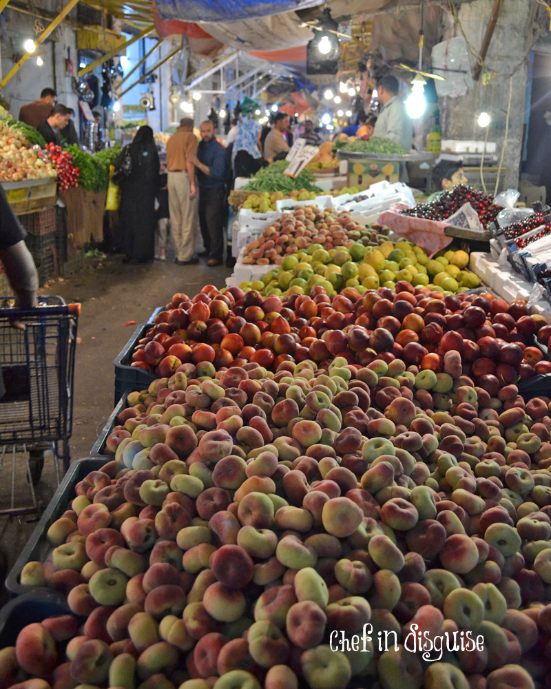 vegetable market in amman