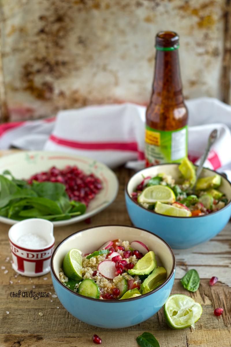 bejeweled quinoa salad